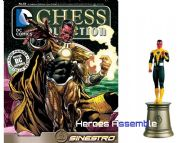 DC Chess Figurine Collection #83 Sinestro Forever Evil Eaglemoss